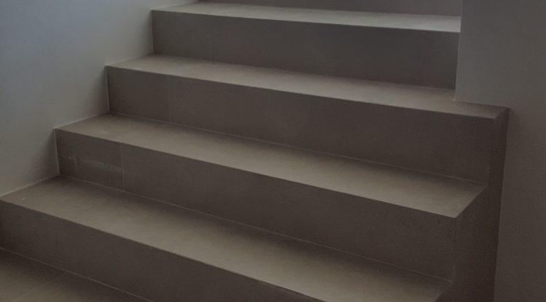 Ristrutturazione Parma - via bixio - dettaglio su scale
