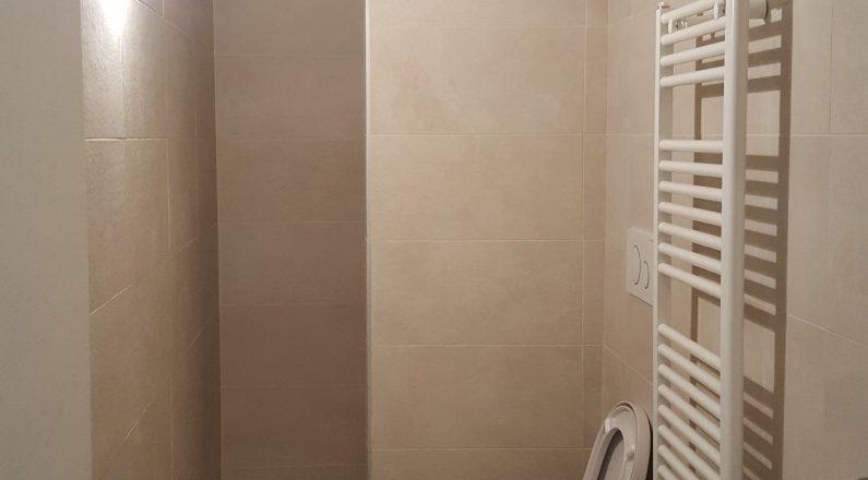 Ristrutturazione Parma - via bixio - dettaglio su bagno