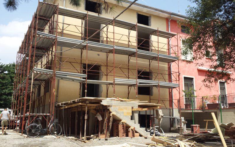 Ristrutturazione edilizia - realizzazione nuovo terrazzo