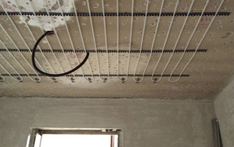Ristrutturazione in bioedilizia - impianto radiante a soffitto - 1