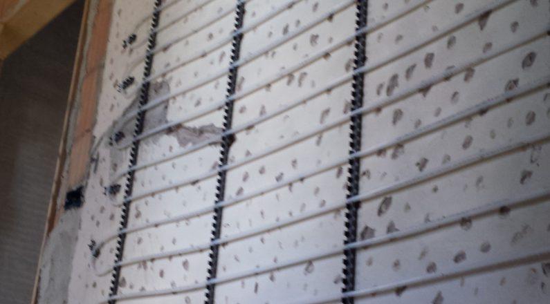 Ristrutturazione in bioedilizia - impianto radiante a soffitto - 2