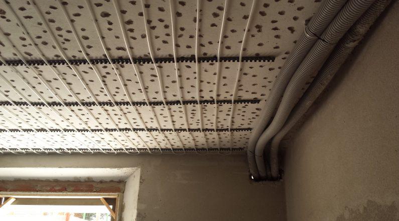Ristrutturazione in bioedilizia - impianto radiante a soffitto - 3