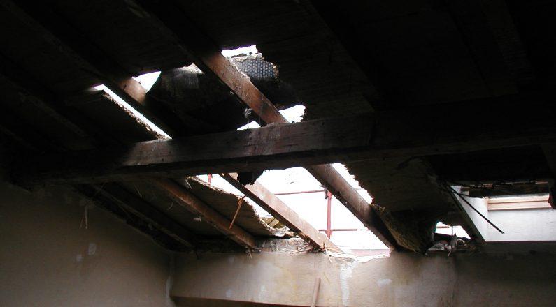 ristrutturazione e riqualificazione - prima dei lavori - 4