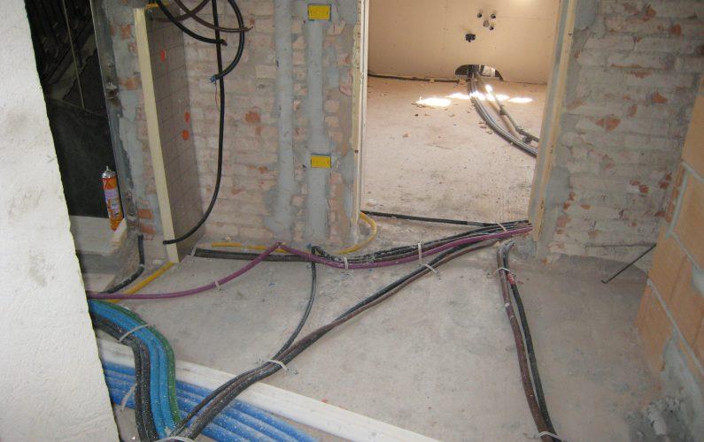 Riqualificazione energetica - fase realizzazione impianti