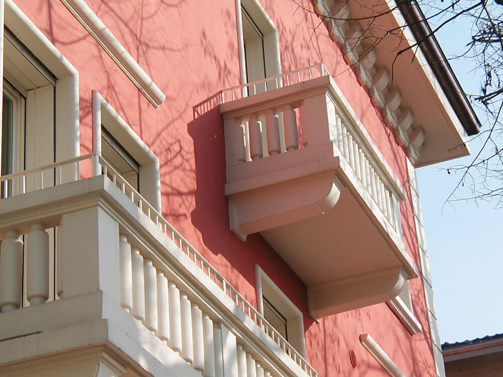 Cappotto termico e riqualificazione energetica - facciata edificio - 1