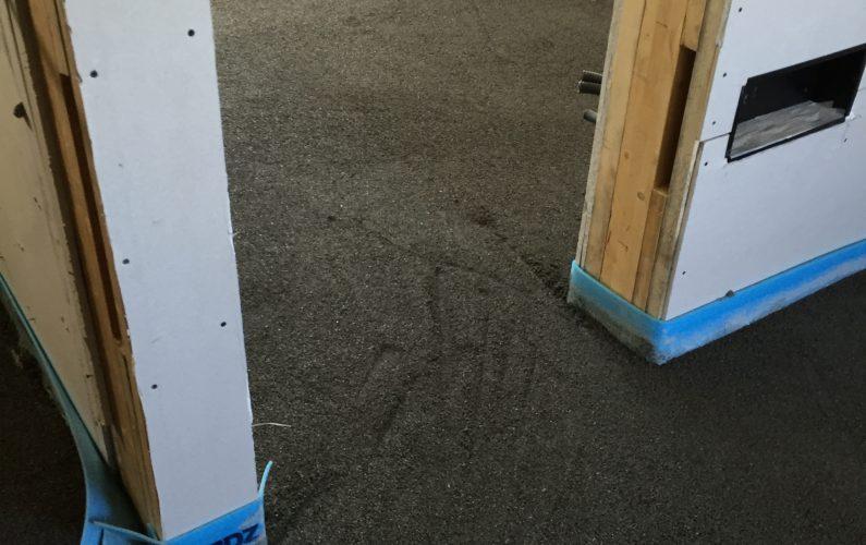 Casa in bioedilizia a Vigheffio - fase dei lavori - foto 2