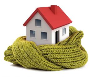 Casa avvolta da una sciarpa
